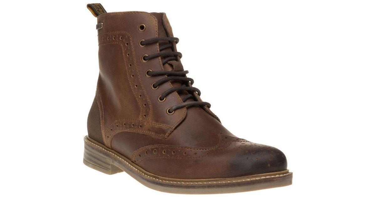 b9099cd1700 Barbour - Brown Belsay Boots for Men - Lyst