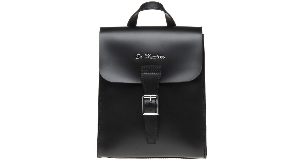 7e8b71589f Dr. Martens Mini Leather Backpack in Black - Lyst