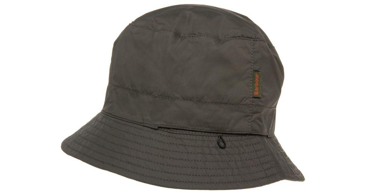 094b1cb988a ... shopping barbour taran sports bucket hat in green for men lyst 3dedc  3c9d3