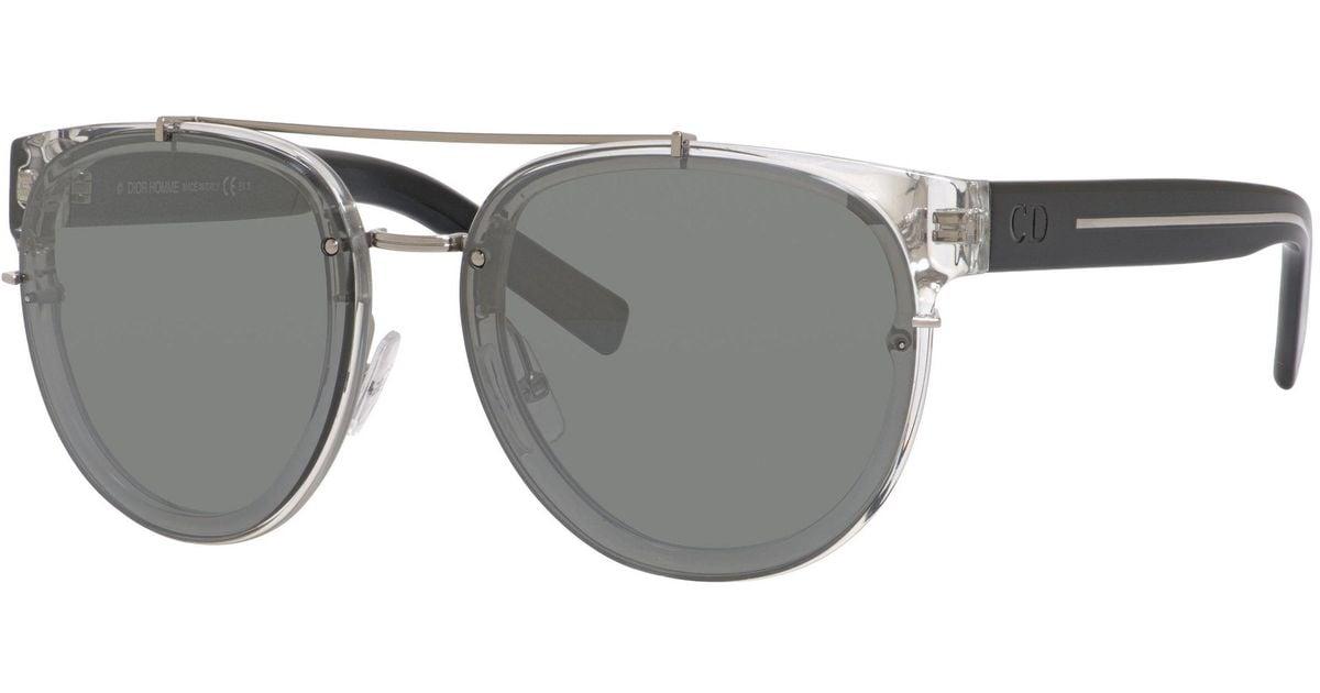 669c15d9a252e Lyst - Dior Homme Blacktie 143 Round Sunglasses