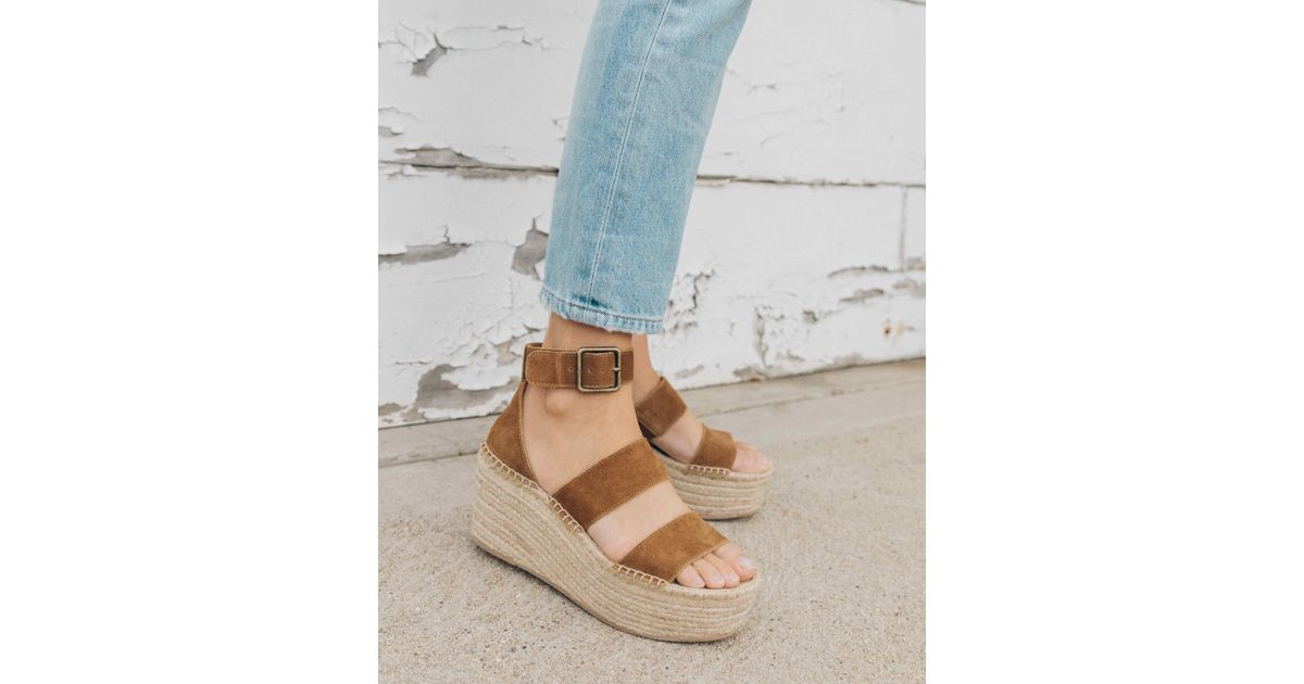 7808a1a3bf4 Soludos Palma Platform Sandal in Blue - Save 1% - Lyst