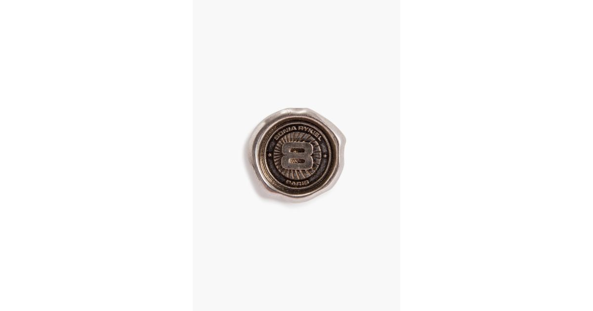Sonia Rykiel Coin Set Of 5 Lacquered Metal Pins 2ZjOAy93