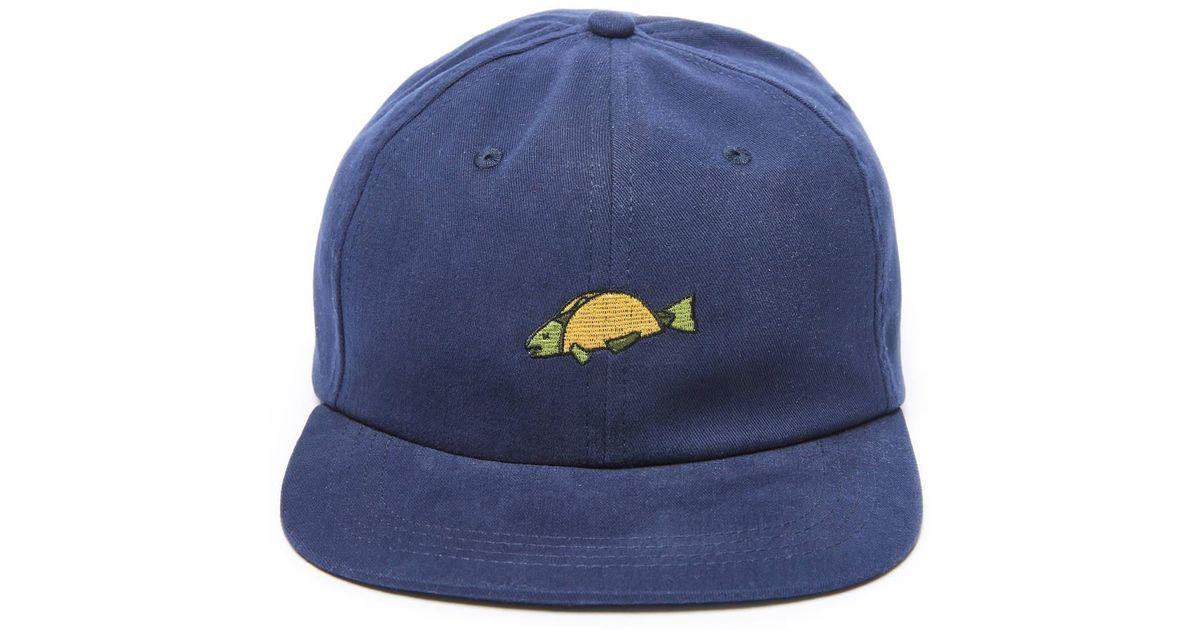 Lyst - South Moon Under Fish Taco Hat in Blue 68891ac7248b