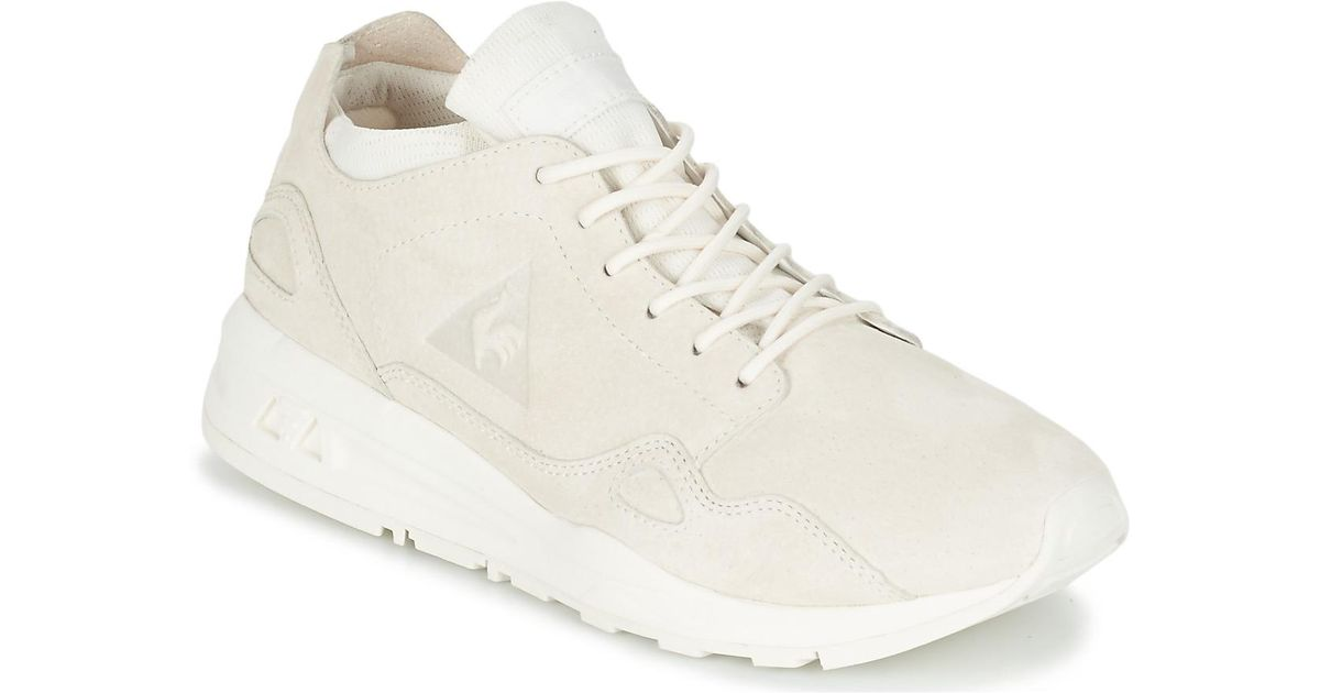 b2c2cc542248 Le Coq Sportif Lcs R Flow W Nubuck Women s Shoes (trainers) In White in  White - Lyst