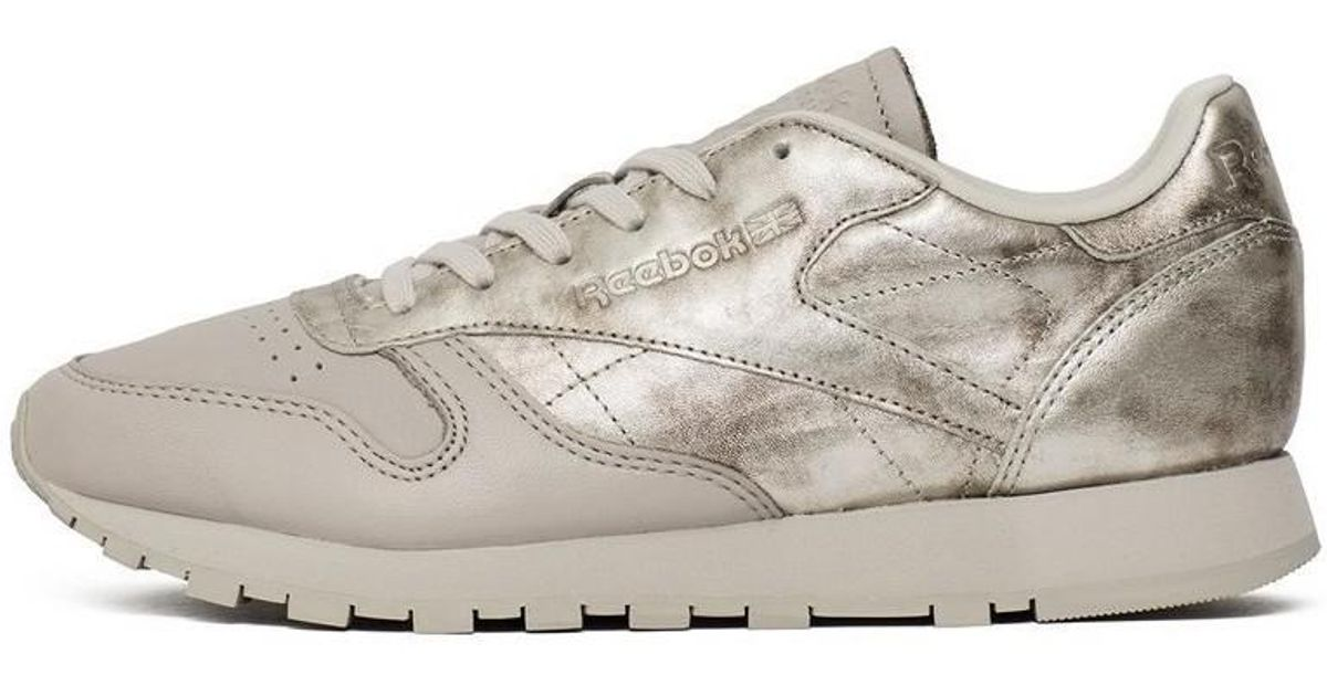 98278537c6ce Reebok Classic Leather Il Women s Shoes (trainers) In Gold in Metallic -  Lyst
