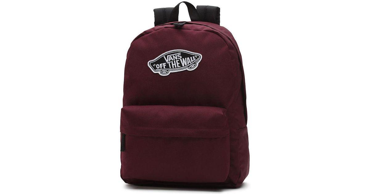 Vans Mochila Realm Backpack Nz04qu Women s Backpack In Other - Lyst dd6b89f7029