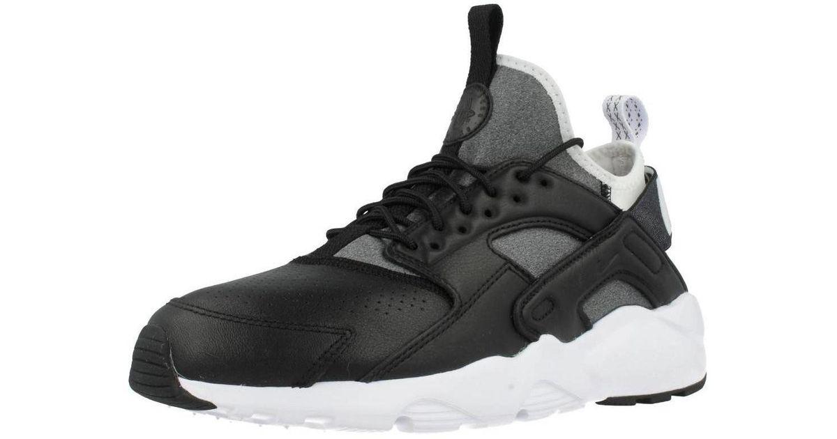 Nike Air Huarache Run Ultra Men's Shoes (trainers) In Black for Men Lyst