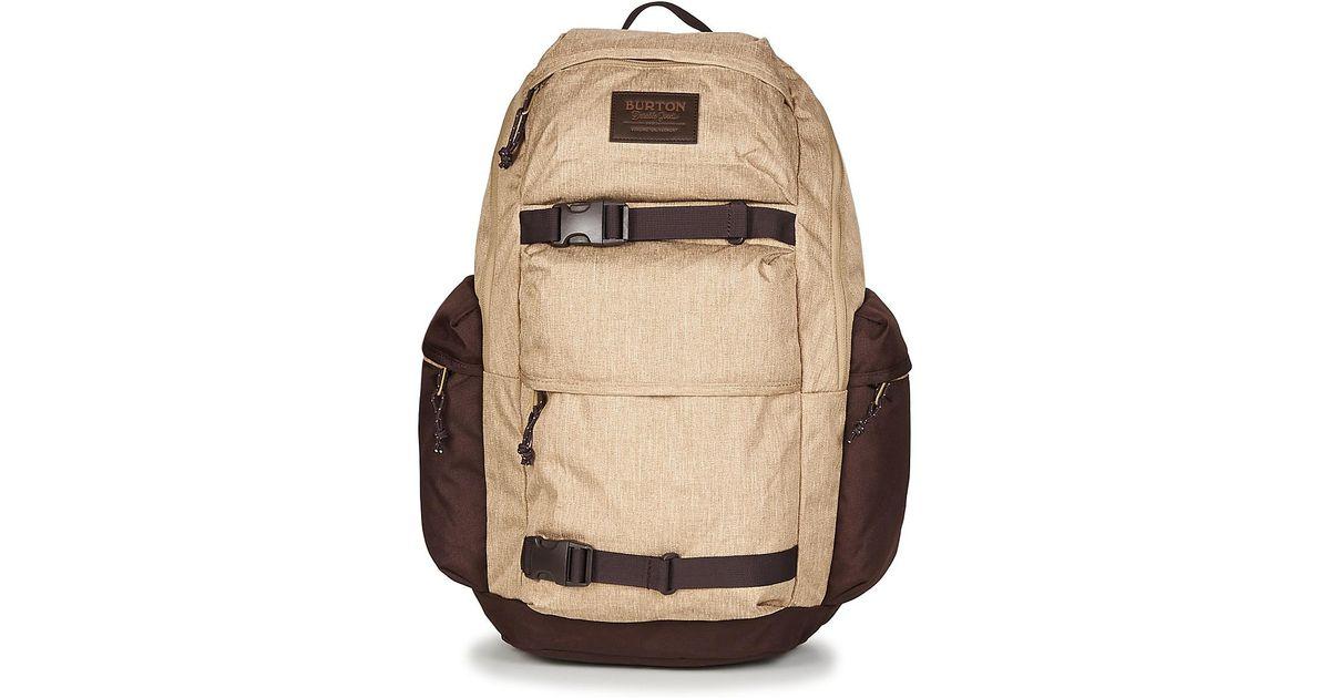 Burton Kilo Pack 27l Men s Backpack In Beige in Natural for Men - Lyst 271fe35bcb356