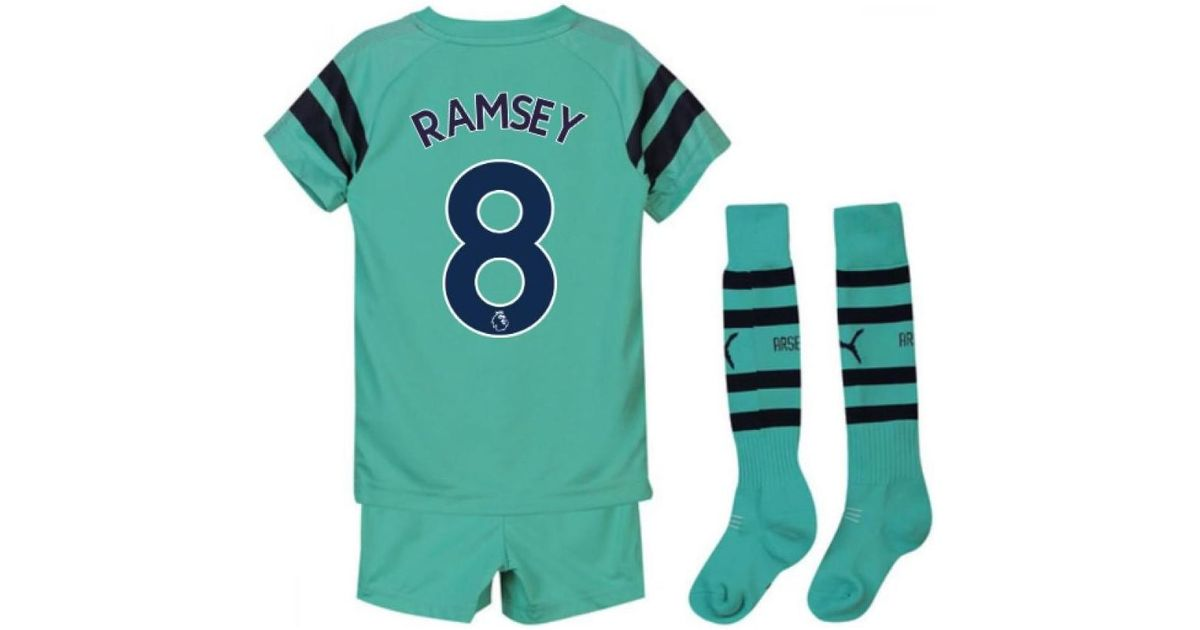 b7189d40b PUMA 2018-2019 Arsenal Third Little Boys Mini Kit (ramsey 8) Men s In Blue  in Blue for Men - Lyst