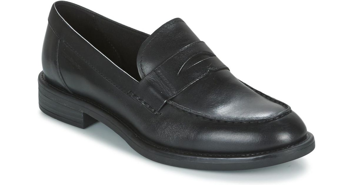 d14a3124ac2 Vagabond Amina Women s Loafers   Casual Shoes In Black in Black - Lyst