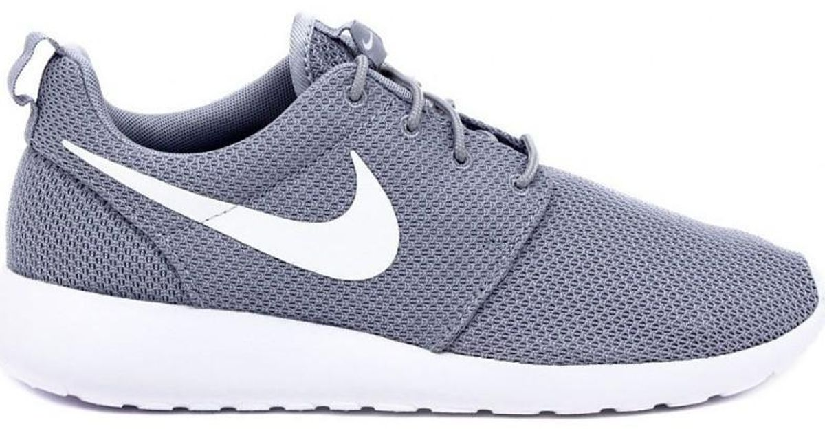 detailed look 209e4 1efea Nike - Gray Roshe One Grey Men's Running Trainers In Grey for Men - Lyst