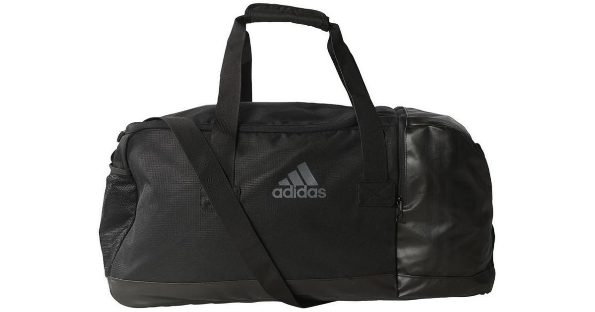 90fb5b373f ... Diablo Duffel Bag  Adidas Originals 3 Stripes Performance Medium Women  s Travel Bag In Multicolour in Black - Lyst ...