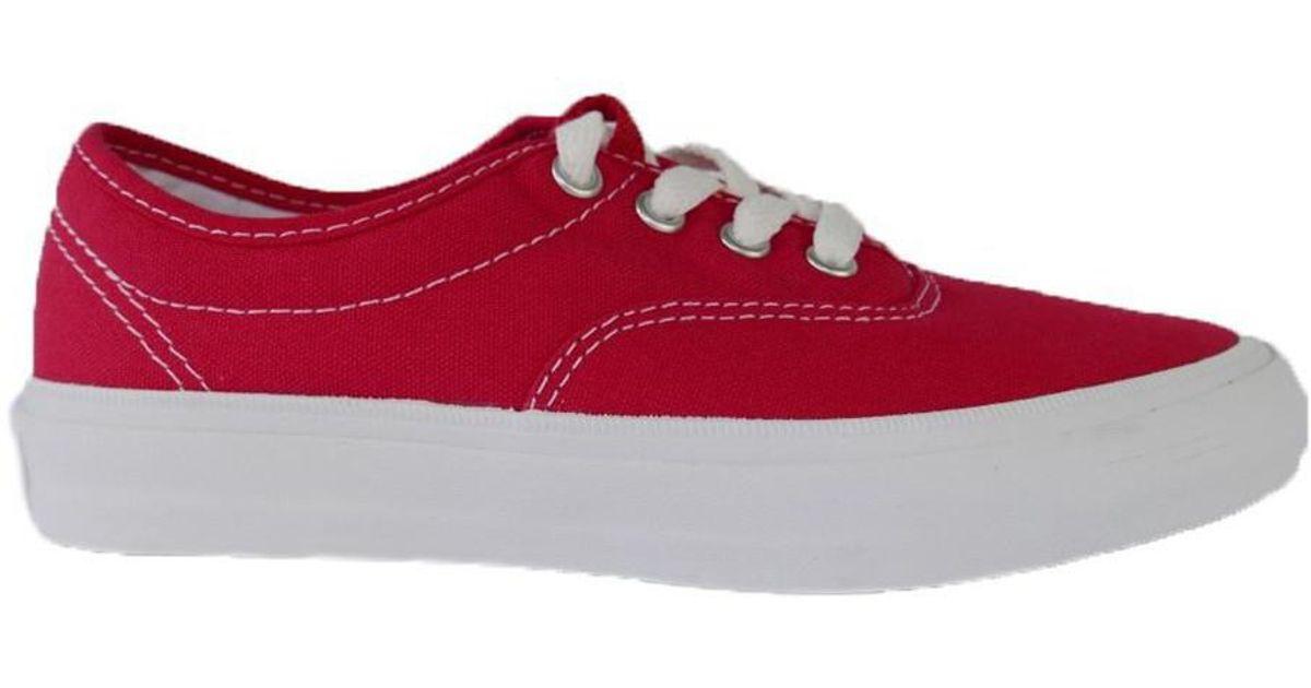 22e1537671ecc7 Converse Standard Cvo Ox Tomato Women s Shoes (trainers) In White in White  - Lyst