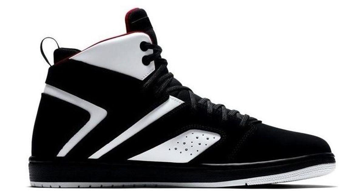 527bd12be734 ... closeout nike jordan flight legend mens shoes high top trainers in black  in black for men