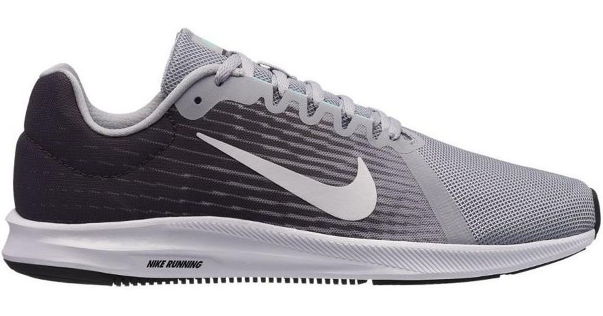 1667b8be3f90f Nike Downshifter 8 Men s Running Trainers In Grey in Gray for Men - Lyst