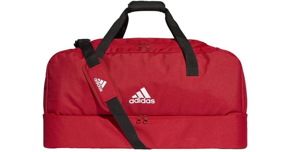 2b3ff4f731 Lyst - Tiro DU BC L hommes Sac de sport en rouge adidas pour homme en  coloris Rouge