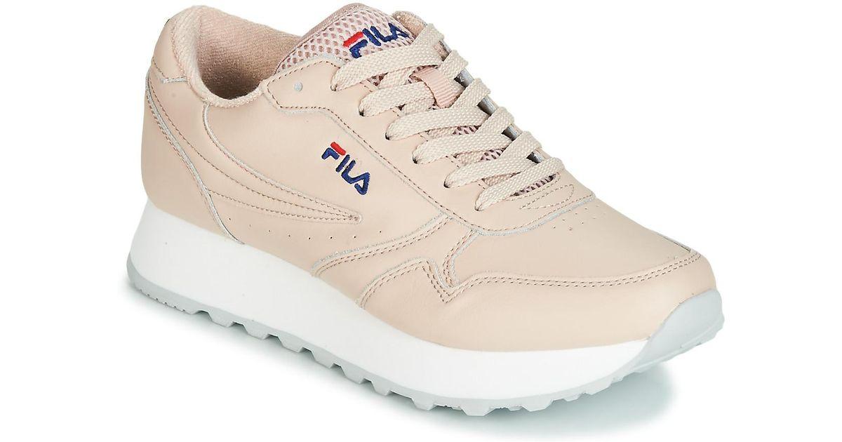 67f1580bbd4 Fila Orbit Zeppa L Wmn Shoes (trainers) in Pink - Lyst