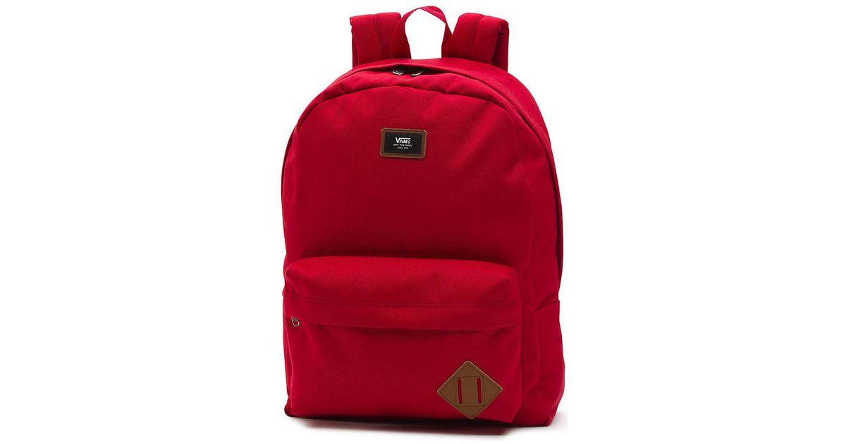 Vans - Mochila Old Skool Schuhe Women's Backpack In Red - Lyst