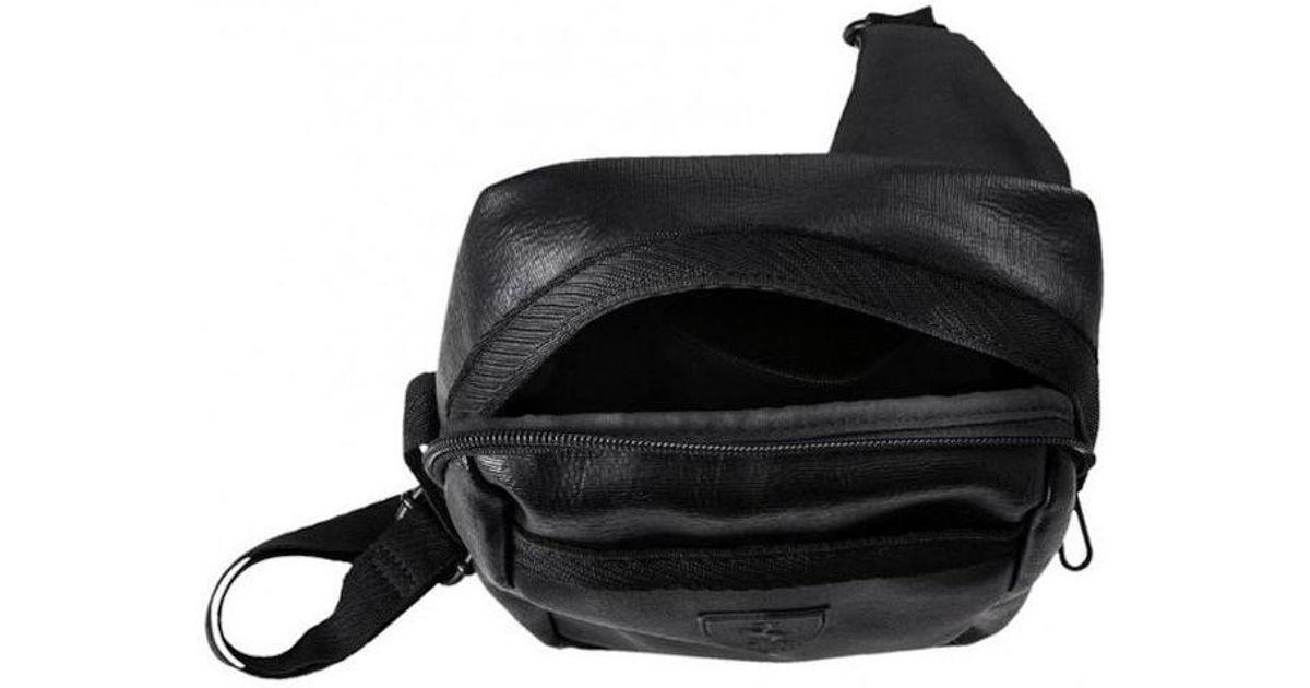 PUMA Sf Ls Portable Men s Messenger Bag In Black in Black for Men - Lyst 7e4419fdd2488