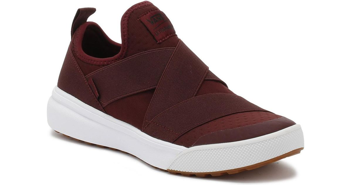 Vans Port Royale Burgundy Ultrarange Gore Trainers Women s Slip-ons (shoes)  In Red in Red - Lyst be65bb8f6