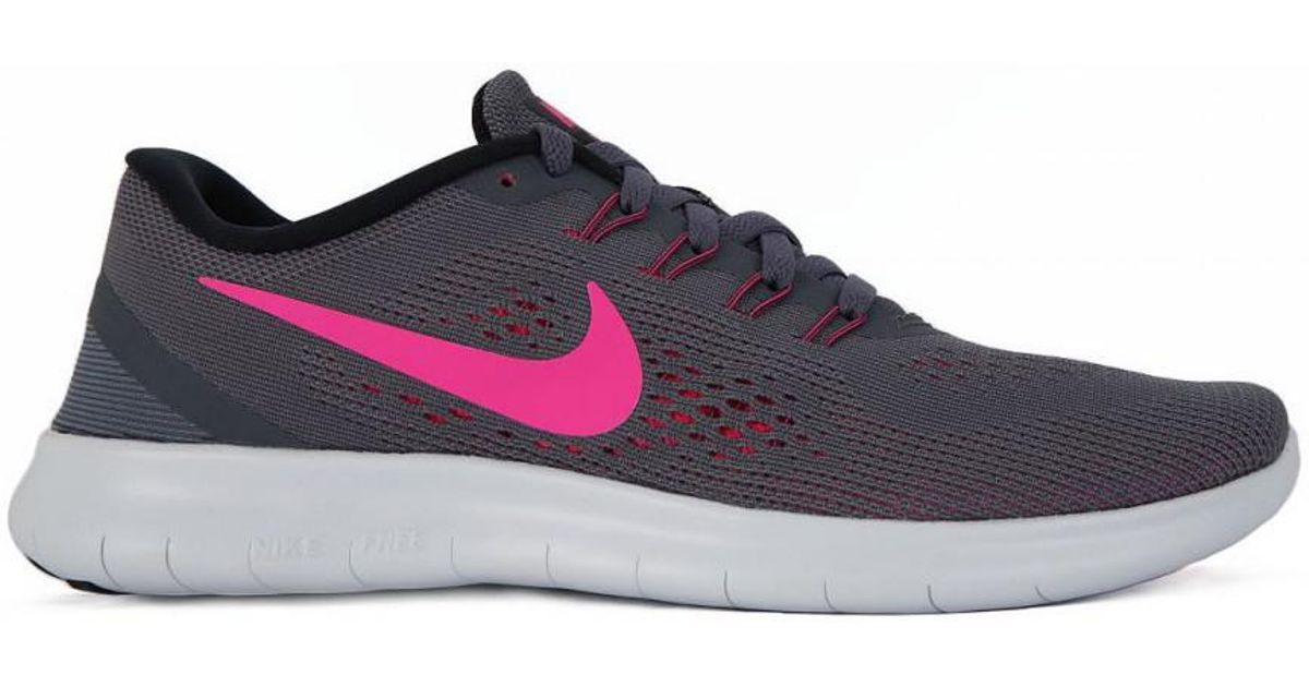 new concept 6aba0 7b91b Nike - Gray Free Run Rn Women's Running Trainers In Multicolour - Lyst