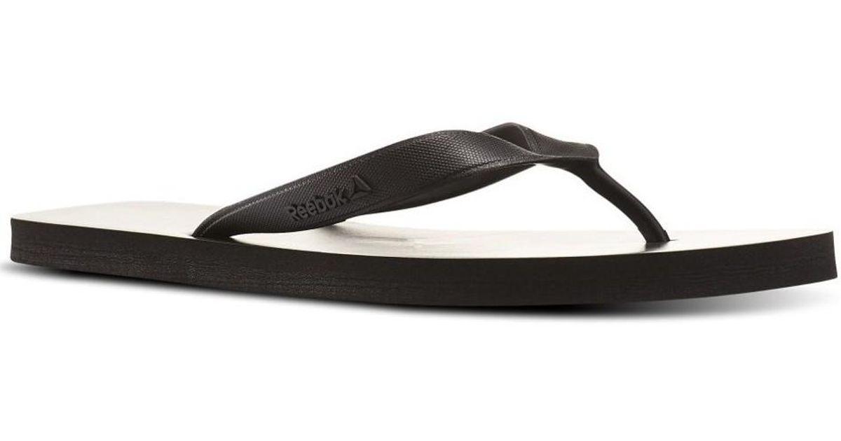 db572d24a693 Reebok Cash Flip Men s Flip Flops   Sandals (shoes) In Black in Black for  Men - Lyst