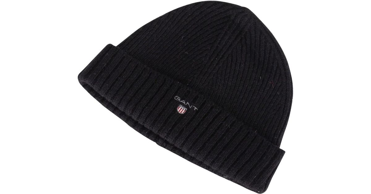 e655be29ade GANT Men s Wool Lined Beanie