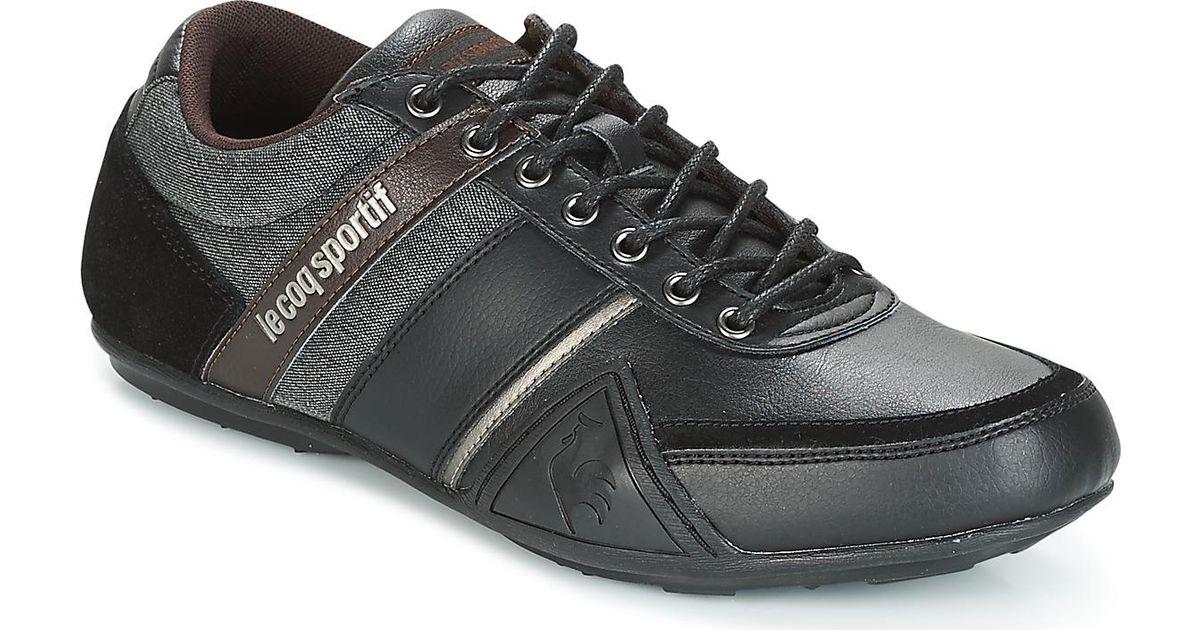 c4efe63c97e7 Le Coq Sportif Andelot S Lea 2tones Men s Shoes (trainers) In Black in Black  for Men - Lyst
