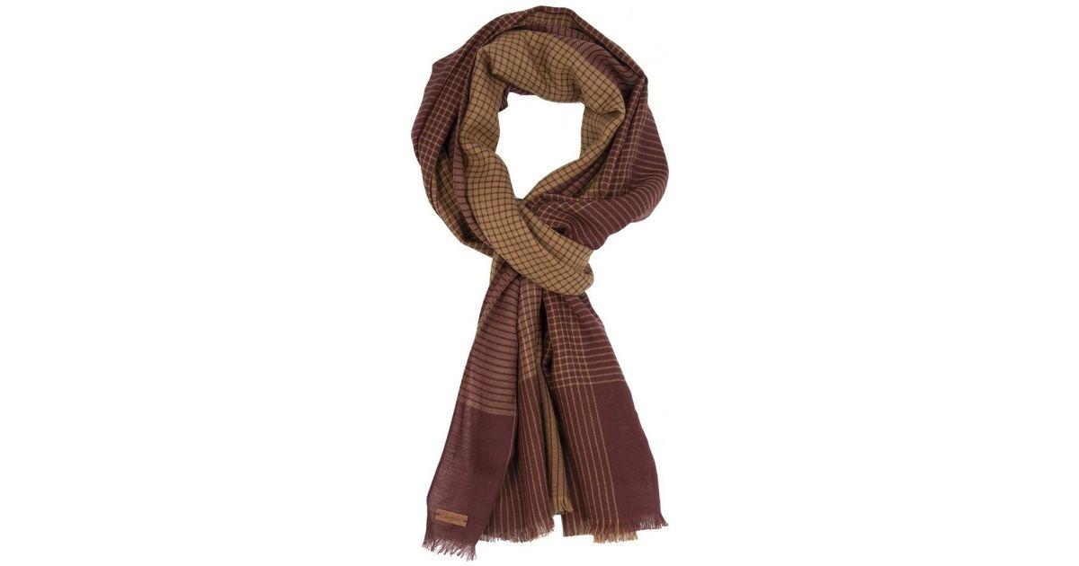 45e3941486 Echarpe laine/coton hommes Echarpe en rouge Chevignon pour homme en coloris  Rouge - Lyst