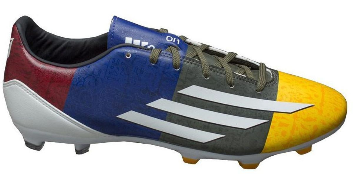 Adidas F10 Fg Messi Men s Football Boots In Multicolour in Blue for Men -  Lyst 550a95ead08