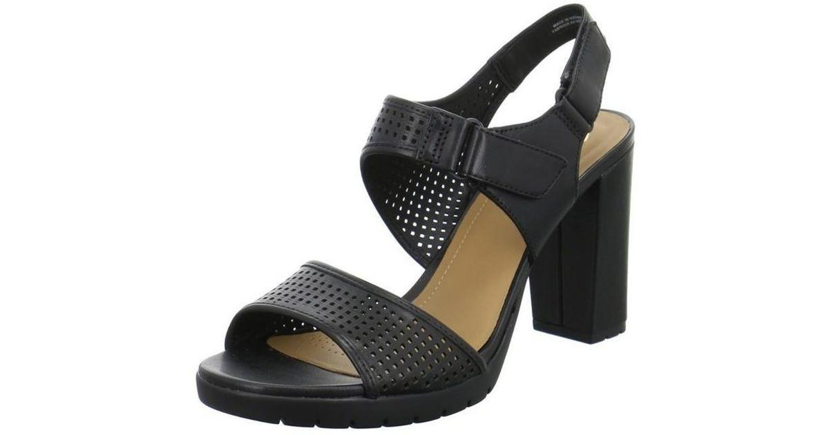 Sandals In Estate Black Women's Clarks Pastina wk0nOP