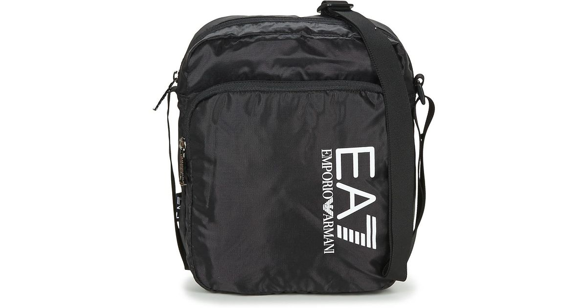 37cec5447945 EA7 Train Prime U Pouch Bag Large B Men s Pouch In Black in Black for Men -  Lyst