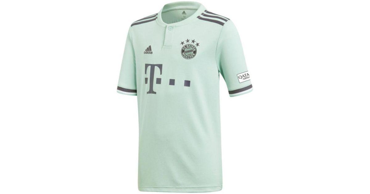 purchase cheap 926a7 f83dd Adidas - 2018-19 Bayern Munich Away Shirt (lewandowski 9) - Kids Men's T  Shirt In Blue for Men - Lyst