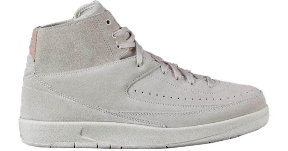 brand new 10181 85727 Nike - Jordan Retro Ii Men's Shoes (high-top Trainers) In White for Men -  Lyst