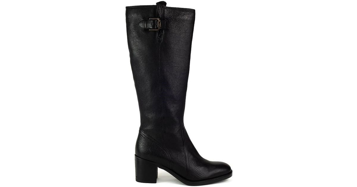 69615bbfb33 Clarks Mascarpone Ela Women s High Boots In Black in Black - Lyst