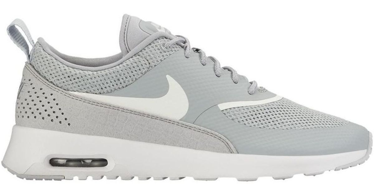 new products 21855 b3e2a 0e35a 19bbb  coupon code nike wmns air max thea womens shoes trainers in  grey in gray lyst 2bc0c