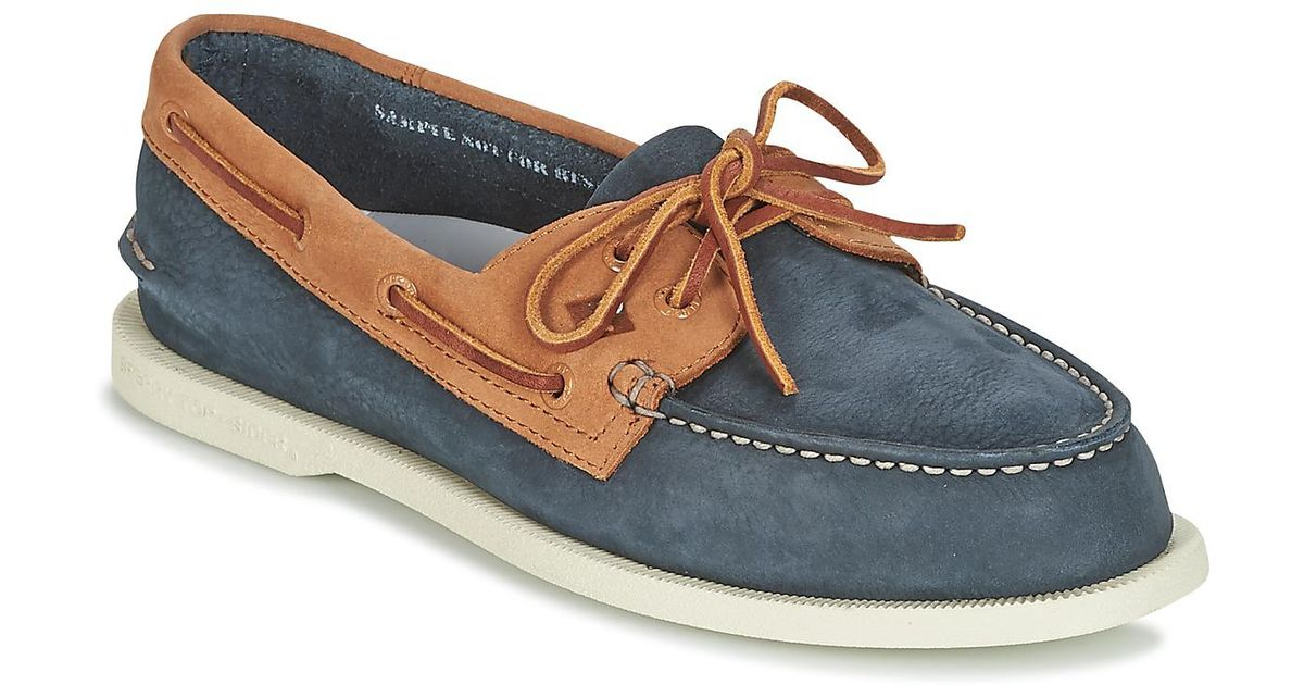 Sperry Top-Sider A o 2-eye Washable Men s Boat Shoes In Blue in Blue for  Men - Lyst 15e30f3779c