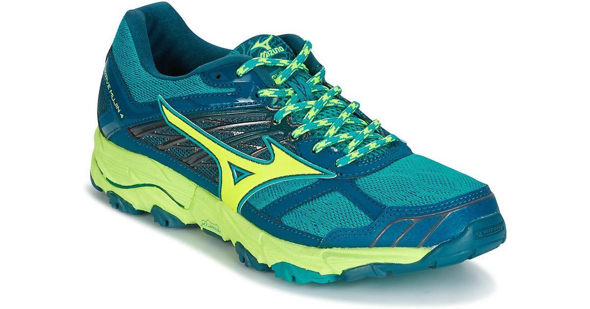 Mizuno Wave Mujin 4 (w) Women's Running Trainers In Blue
