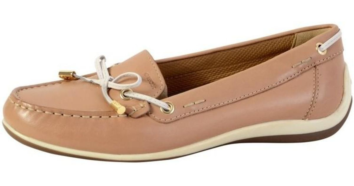 Geox Shoes Yuki Lt Taupe D6455a 00043 C6738 Women s Loafers   Casual Shoes  In Brown in Brown - Lyst a79ea1e4dc0