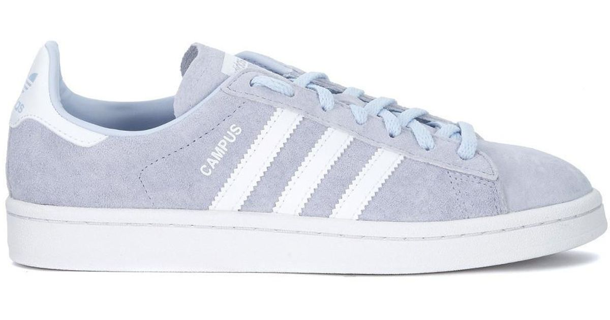 adidas Campus Light Blue Nubuck Sneaker Women s Shoes (trainers) In Other  in Blue - Lyst 3a6e4f9b6
