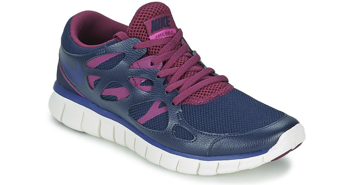 e1924fc5e6b0 Nike Free Run 2 Ext Women s Shoes (trainers) In Blue in Blue - Lyst