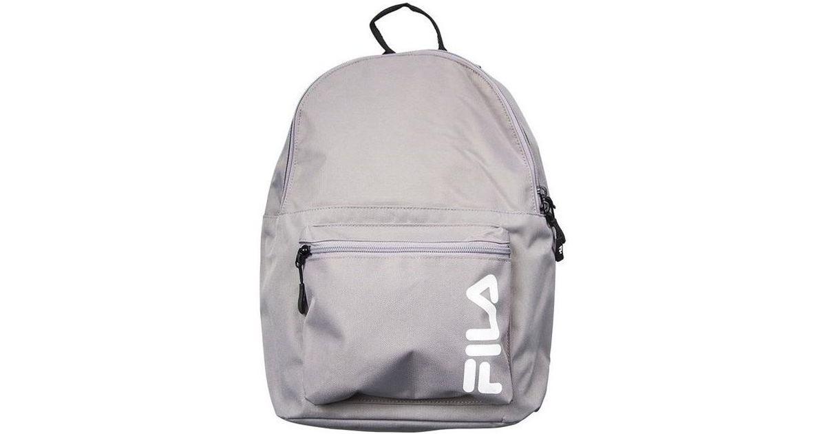 5991aeafdf Fila Backpack Scool Women s Backpack In Grey in Gray for Men - Lyst