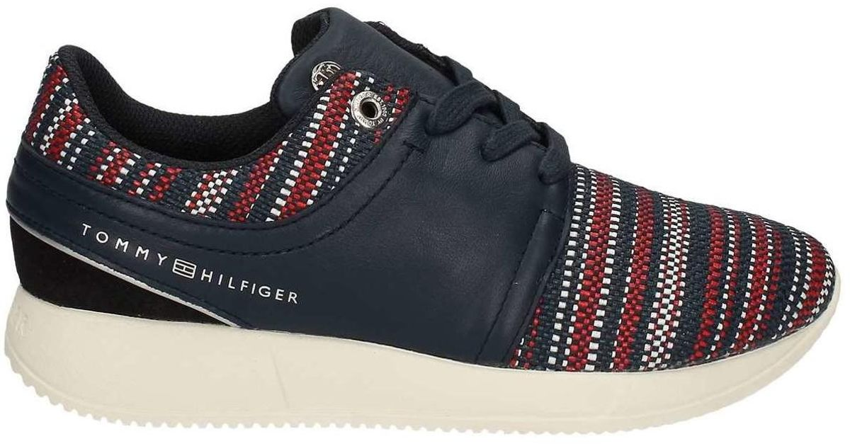 d070acc203b576 Tommy Hilfiger Fw0fw00992 Sneakers Women Nd Women s Walking Boots In Brown  in Brown - Lyst