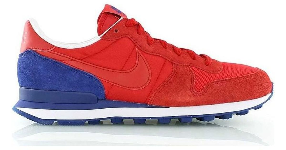 best website 2a175 e2bf5 ... switzerland nike internationalist mens shoes trainers in red in red for  men save 25.663716814159287 lyst 5ee01