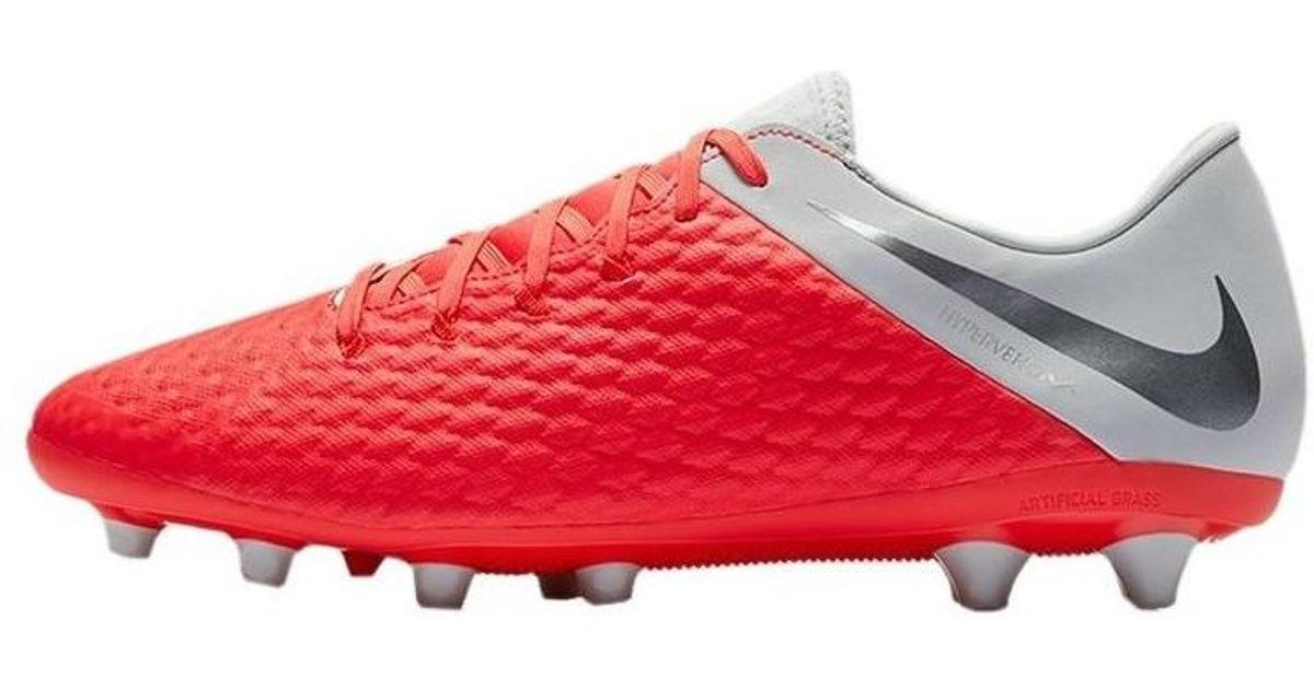 best service 761e2 510bd Nike - Red Hypervenom 3 Academy Fg Men's Football Boots In Multicolour for  Men - Lyst