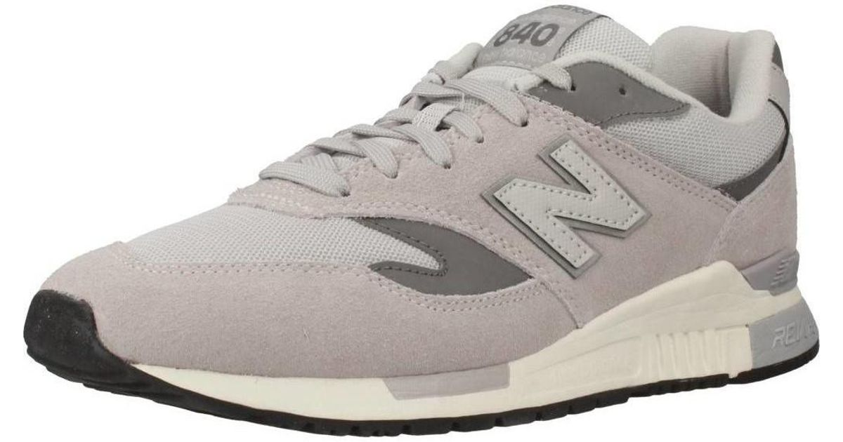 Lyst   New Balance Ml840 Af Men s Shoes trainers In Grey in Gray for Men