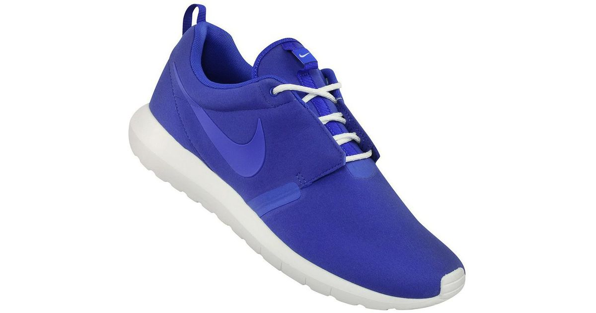 0915154a285c Nike Rosherun Nm Men s Shoes (trainers) In Blue in Blue for Men - Lyst