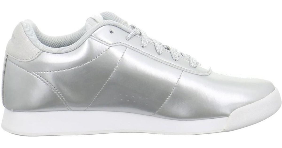 085983e263d0 Reebok Royal Charm Men s Shoes (trainers) In Silver in Metallic for Men -  Lyst