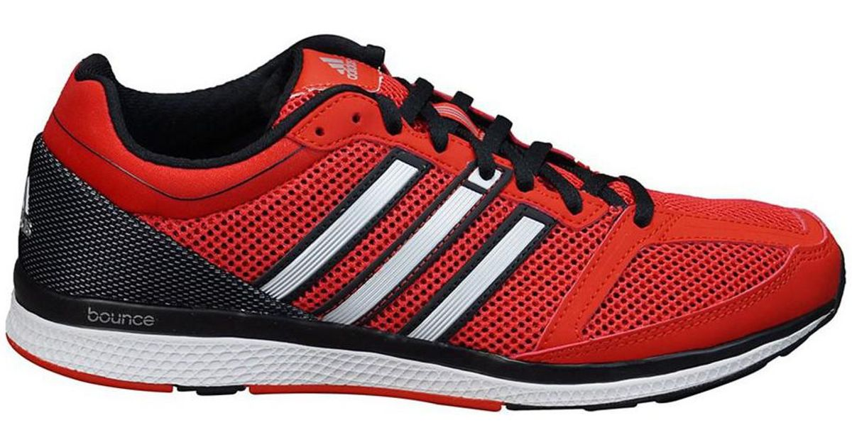 adidas Mana Rc Bounce M Women's Running Trainers In Red in ...