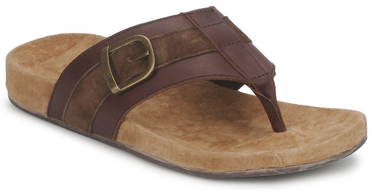 b66112a91a EMU Marlo Men's Flip Flops / Sandals (shoes) In Brown in Brown for Men -  Lyst